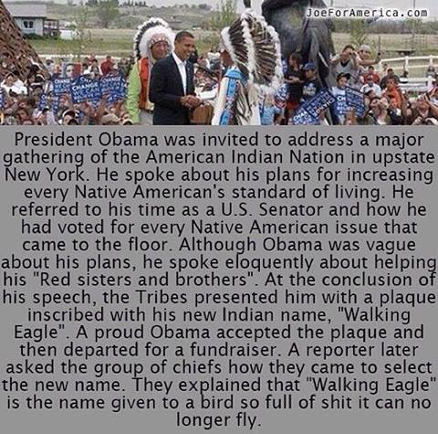 OBAMA AND NATIVE AMERICANS