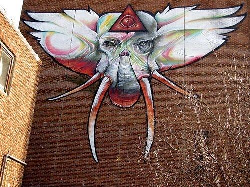 Great urban art by Steve Locatelli
