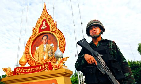 Thai military declares coup