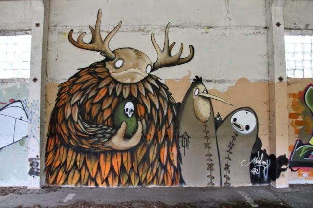 Streetart Graffiti in Berlin