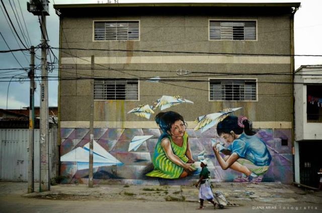 Street art in Cali, Colombia