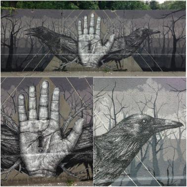 Street art in Vienna, Austria, by artist Alexis Diaz (1)