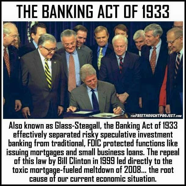 What Was The Glass-Steagall Act?
