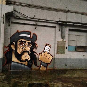 #lemmy #riplemmy #motorhead Street art in Belgium by Owkes Hws Wesr
