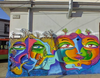 Street art in Chile by artist UnKolorDistinto