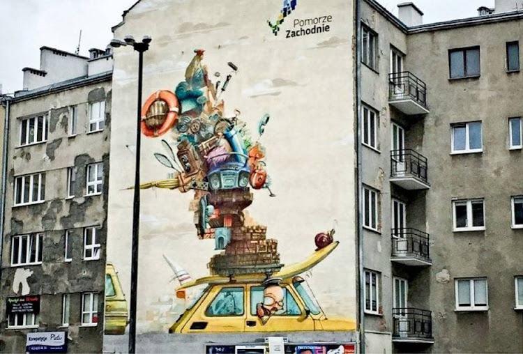 Street Art In Warsaw Poland Wordvirus