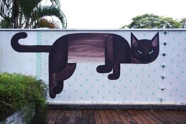 Street art in Sao Paulo, Brazil, by artist TIKA