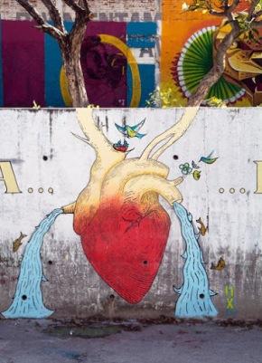 #tuxtlagutierrezchiapas-AÚN HAY VIDA EN ESTAS AGUAS-Street art in Tuxtla Gutiérrez, Mexico, by Amauri Huitzilopochtli