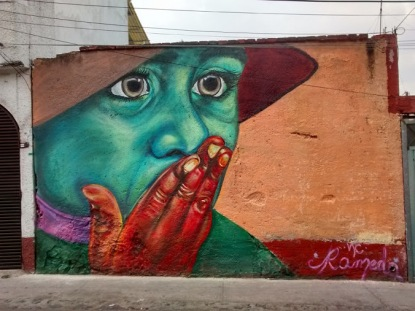 Street art in Mexico by artist Ramed NC
