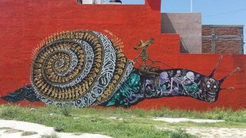 #streetart in San Miguel de Allende, Mexico. Photo by SAChilango
