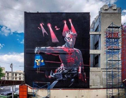 #streetart in Mexico. Photo by SAChilango