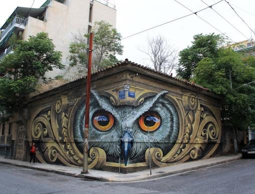 knowledge-speaks-wisdom-listens-streetart-in-athens-greece-by-artist-wd-street-art